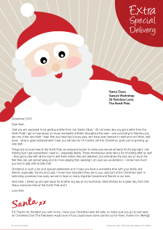 What do our santa letters look like love from santa santa letter santa design 234px spiritdancerdesigns Image collections